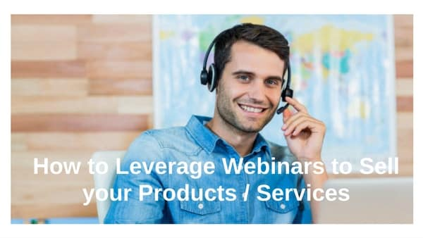 ho wot leverage webinars guy headset smiling